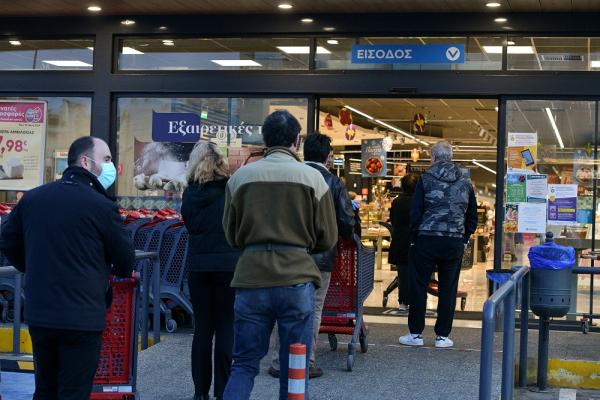 Νέο ωράριο στα σούπερ μάρκετ, τι θα αλλάξει με τα νέα μέτρα
