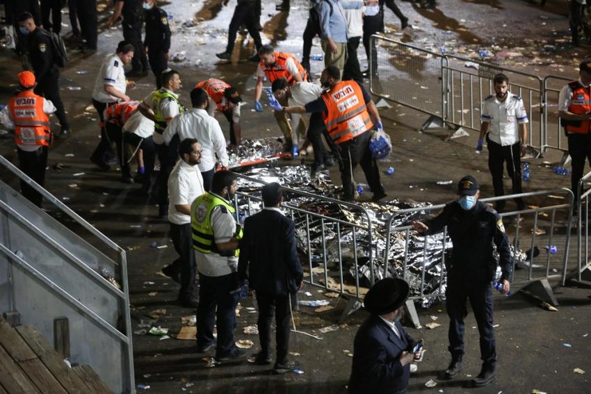 Τραγωδία στο Ισραήλ: Ποδοπατήθηκαν μέχρι θανάτου σε θρησκευτική γιορτή