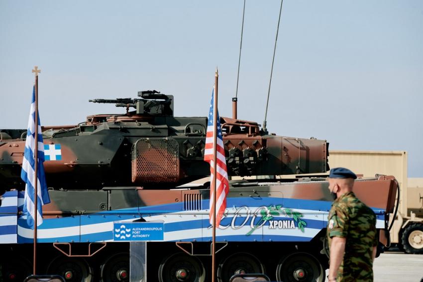Τουρκικό άγχος για την αμερικανική παρουσία στην Δυτική Θράκη