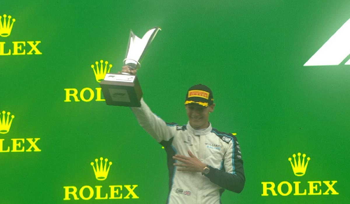 Formula 1: Ο Τζορτζ Ράσελ ανέβηκε στο βάθρο για πρώτη φορά