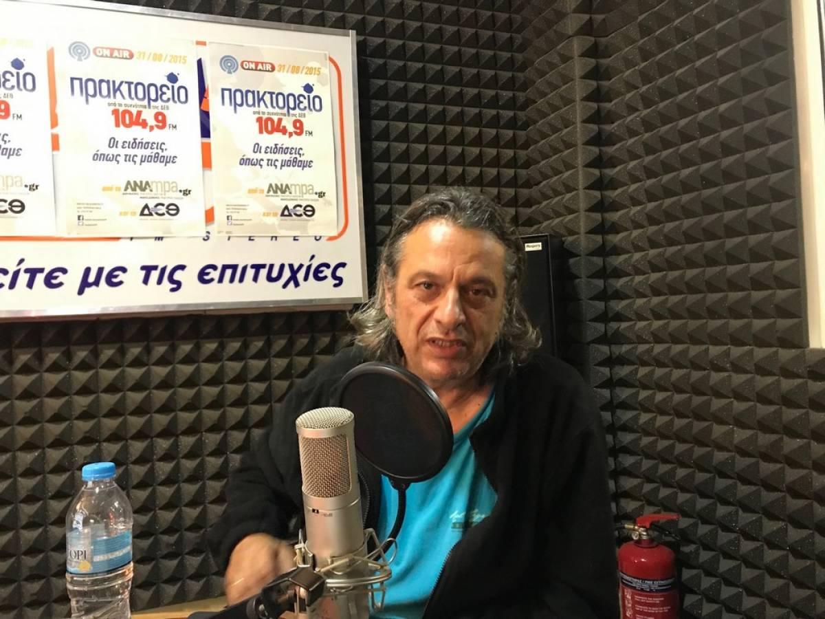 Κραυγή αγωνίας από τον Δημήτρη Ζερβουδάκη για την ένταξη του κόσμου του θεάματος και του ακροάματος στη ρύθμιση των 800 ευρώ