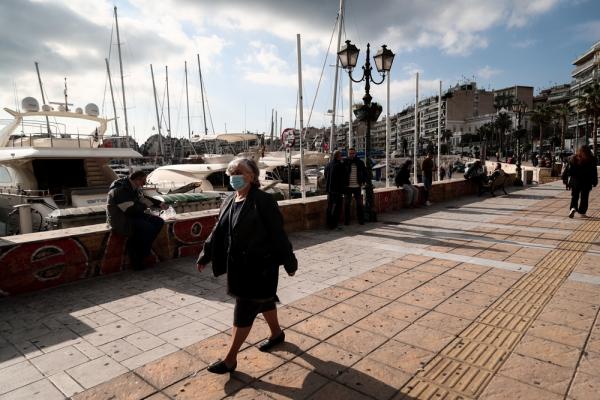 Κορονοϊός: 94 κρούσματα στον Πειραιά