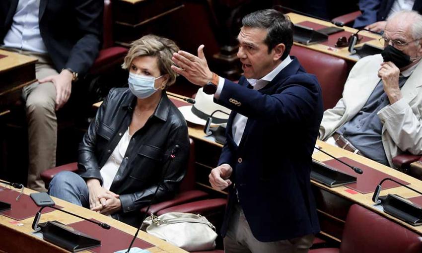 Πρωτοφανής απόφαση: Απαγόρευσαν στον Αλέξη Τσίπρα να μιλήσει στη Βουλή