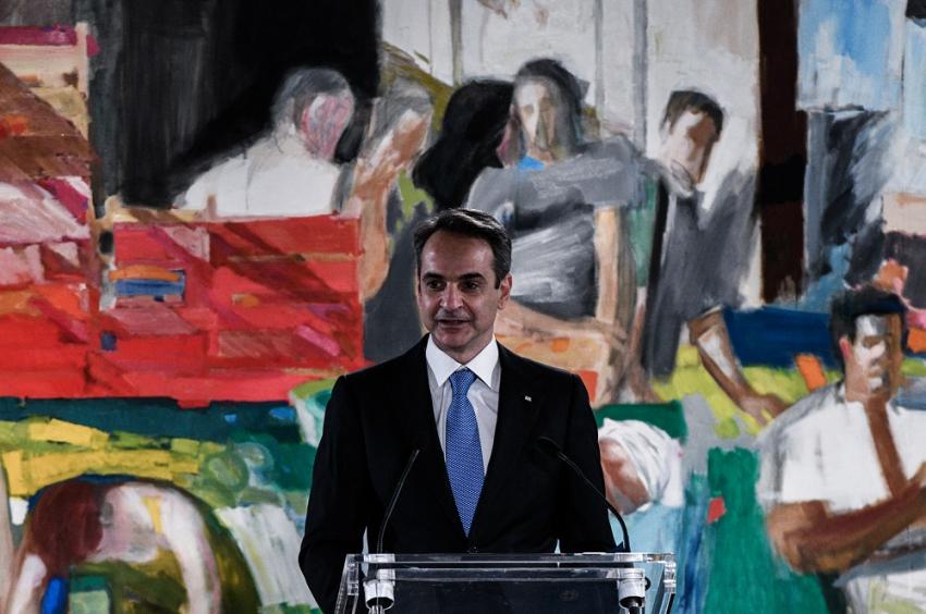 Μητσοτάκης από Εθνική Πινακοθήκη: Οι απλοί άνθρωποι έχτισαν τη σύγχρονη Ελλάδα
