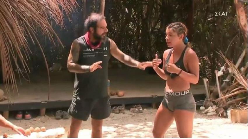 Survivor 2021: Η Μαριαλένα φόρεσε το εσώρουχο του Σάκη