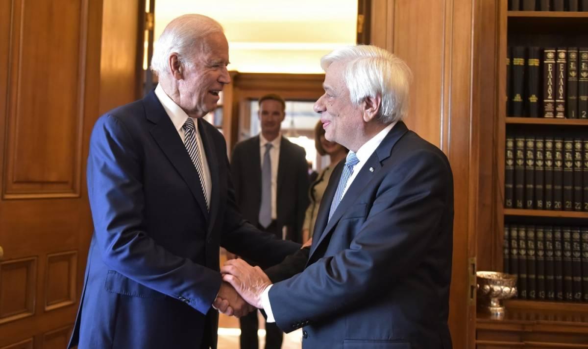 Μπάιντεν – Παυλόπουλος: Η επίσκεψη του προέδρου των ΗΠΑ στο προεδρικό