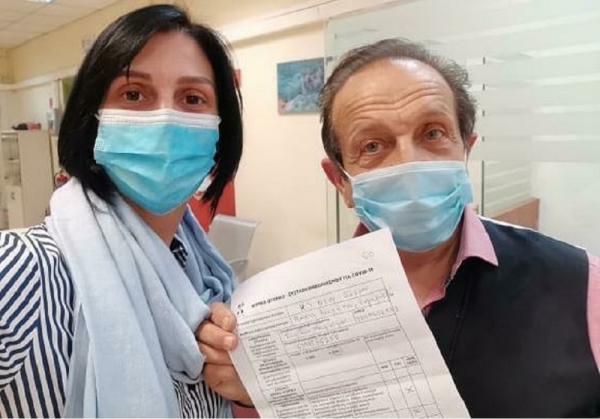 Σπύρος Μπιμπίλας: Έκανε το εμβόλιο - Το μήνυμα που έστειλε