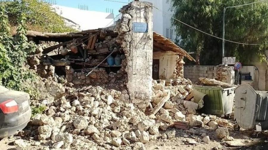 Σεισμός στην Κρήτη: Ζημιές σε κτίρια και σπίτια - Στους δρόμους οι κάτοικοι (Φωτογραφίες)