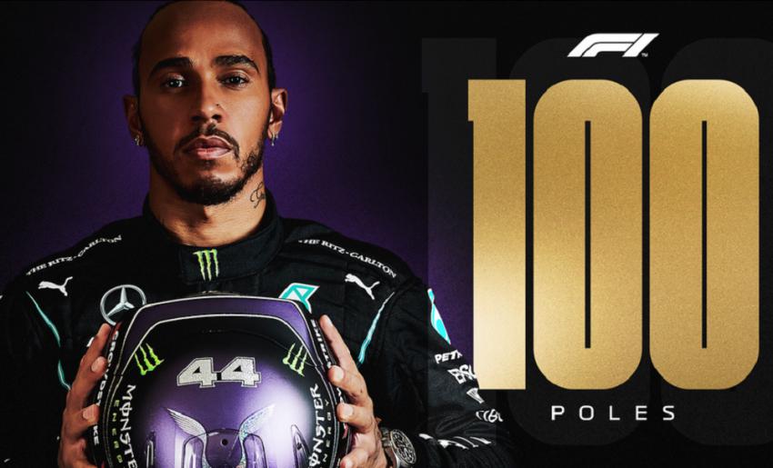 Formula 1: Ο Χάμιλτον έφτασε τις 100 Pole Position