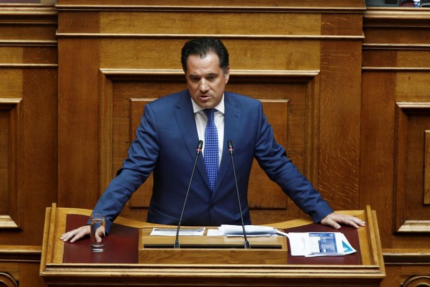 Γεωργιάδης: Όποιος αμφισβητήσει τη Συμφωνία των Πρεσπών, δωρίζει το όνομα Μακεδονία