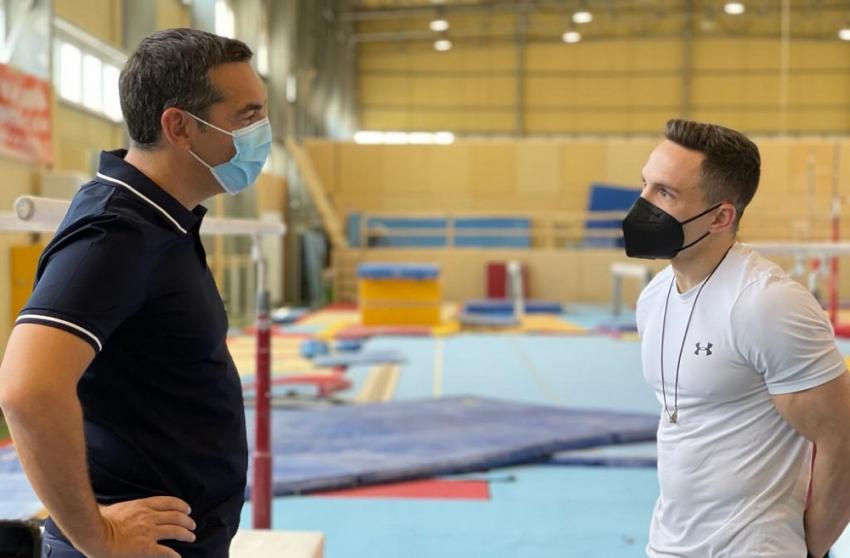 Τσίπρας προς Πετρούνια: Είμαστε ευγνώμονες για τις επιτυχίες σας - Να βοηθήσουμε τον ερασιτεχνικό αθλητισμό όσο μπορούμε