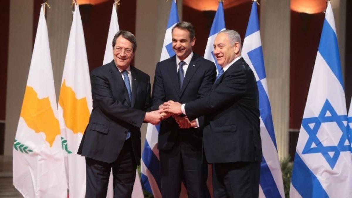 Έπεσαν οι υπογραφές για τον EastMed - Τι δήλωσαν Μητσοτάκης, Αναστασιάδης και Νετανιάχου