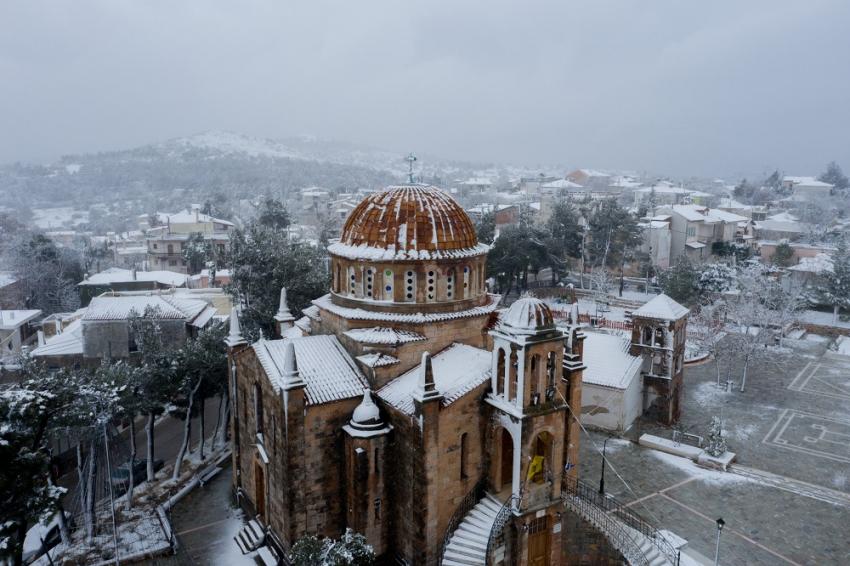 Σάκης Αρναούτογλου για «Μήδεια»: Φέρνει ισχυρές χιονοπτώσεις - Προσοχή σε αυτές τις περιοχές