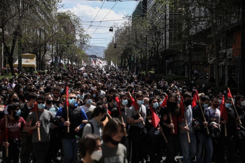 Σε εξέλιξη πανεκπαιδευτικό συλλαλητήριο - Κλειστό το κέντρο της Αθήνας