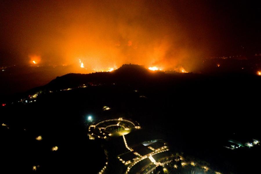 Μαύρο ξημέρωμα σε Εύβοια, Αρχαία Ολυμπία, Μεσσηνία - Πού βρίσκονται τώρα οι φωτιές
