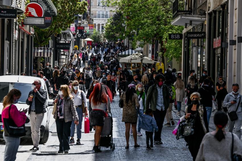 Κρούσματα σήμερα: 728 στην Αθήνα - Οι δήμοι στο «κόκκινο»