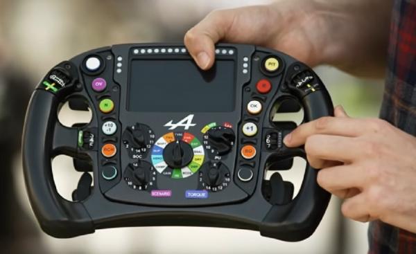 Οι λειτουργίες ενός τιμονιού της Formula 1