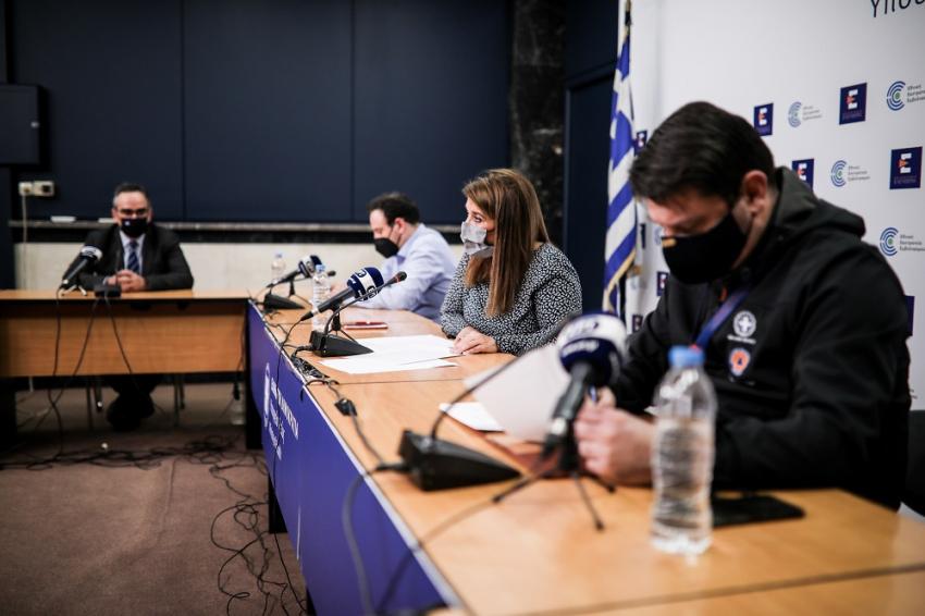 Κορονοϊός : Παράταση lockdown η Βοιωτία και νέες περιοχές στο «βαθύ κόκκινο» - Όλα τα νέα μετρά