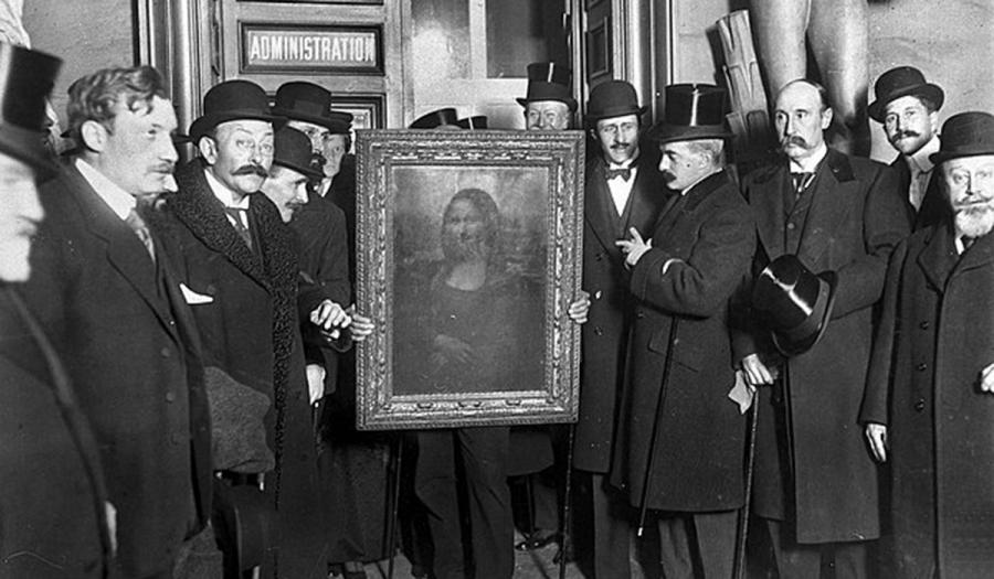 Ελαιοχρωματιστής είχε κλέψει και την Τζοκόντα από το Λούβρο το 1911