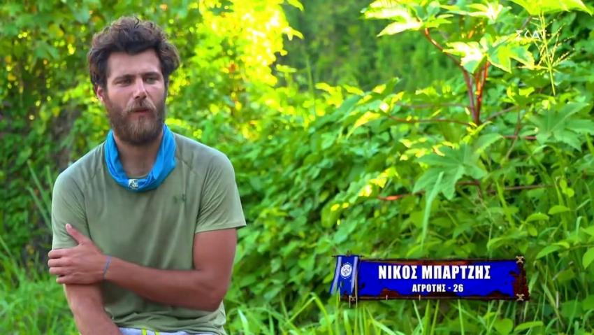 Survivor 2021: Στο νοσοκομείο ο Νίκος Μπάρτζης - Πρόβλημα στους Μπλε