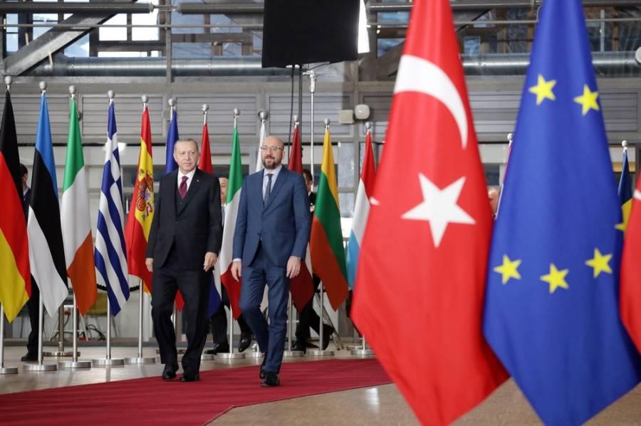 Τέλος οι κυρώσεις από την ΕΕ στην Τουρκία