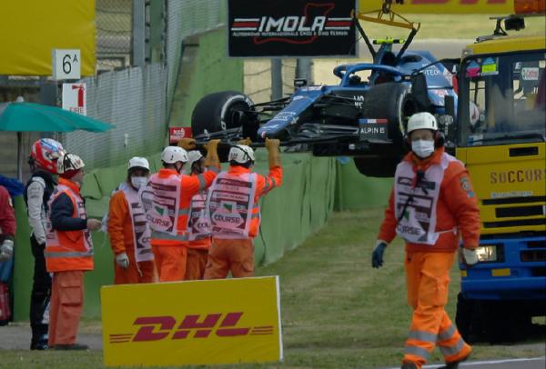 Formula 1: Επεισοδιακή η πρώτη περίοδος των ελευθέρων δοκιμών στην Ίμολα (vid)