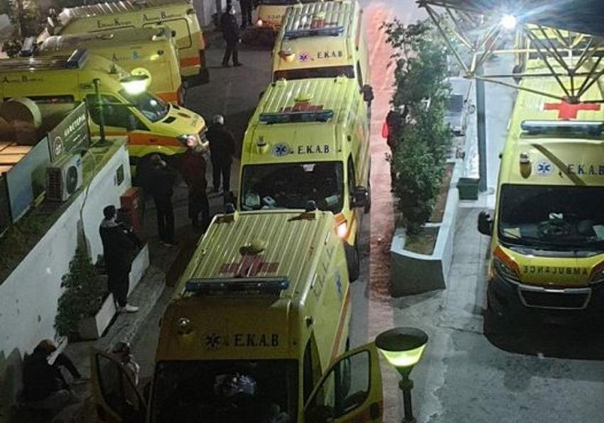 Νοσοκομείο Ευαγγελισμός Κυριακή βράδυ: Η εικόνα που κόβει την ανάσα