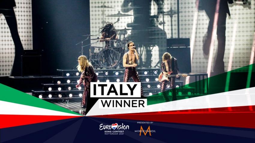 Eurovision 2021: Νίκησε η Ιταλία με τους Maneskin που βγήκαν από talent show